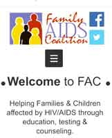 Donación a Family Aids Coalition